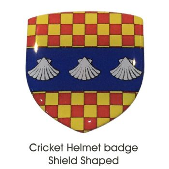Helmet Badge Shield Shape